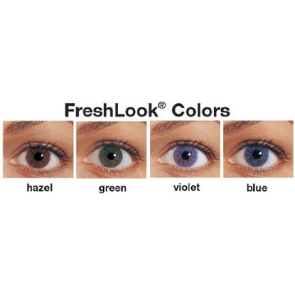 how to use fresh look contact lenses