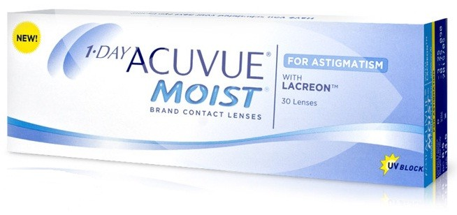 1 Day ACUVUE MOIST for Astigmatism, prezzo 19,39 ...