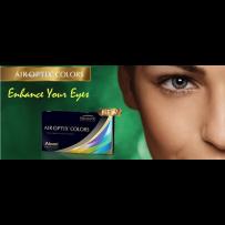 Air Optix Colors (Plano) Non Prescription (1 Pair)