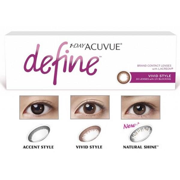 2364a5bb4da Buy 1 Day Acuvue Define (Plano) Non-Prescription Online ...