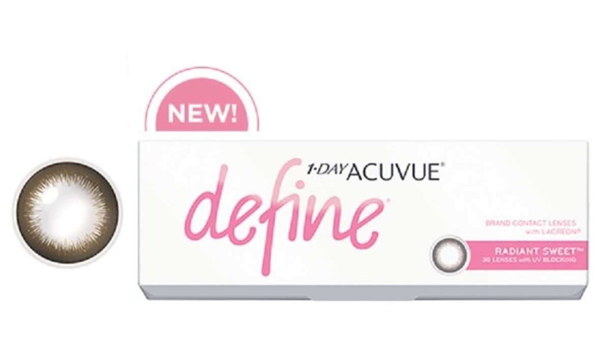 ca3609ea272 Buy 1 Day Acuvue Define (Radiant Bright Charm Sweet) (Plano) Non ...